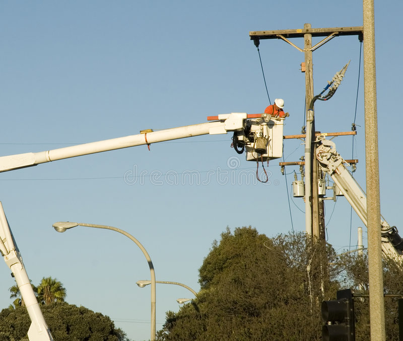 Camions de câble photo libre de droits