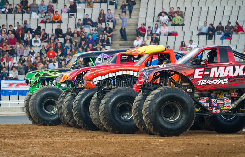 Camions de monstre image stock