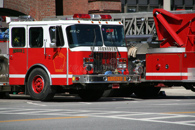 Camions de pompiers photographie stock libre de droits