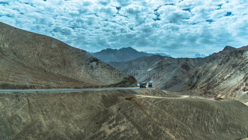 Camions de route photo libre de droits