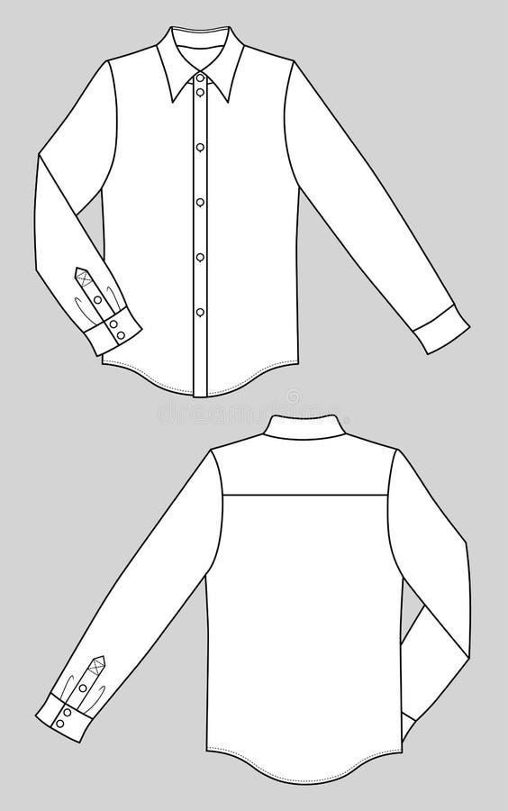 Camisa ilustração stock