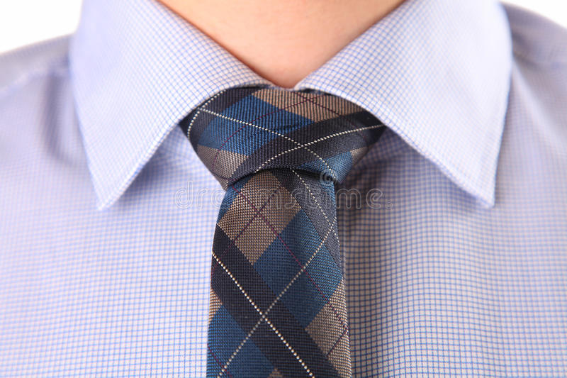 Camisa azul imagens de stock royalty free