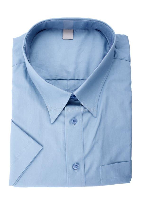 Camisa azul fotos de archivo libres de regalías