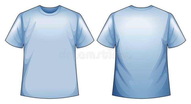Camisa azul libre illustration