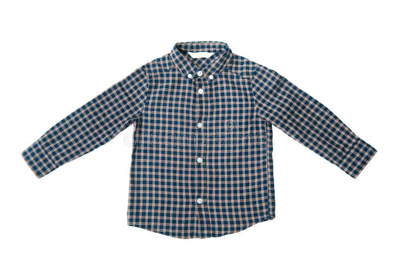 Camisa azul para el muchacho fotos de archivo