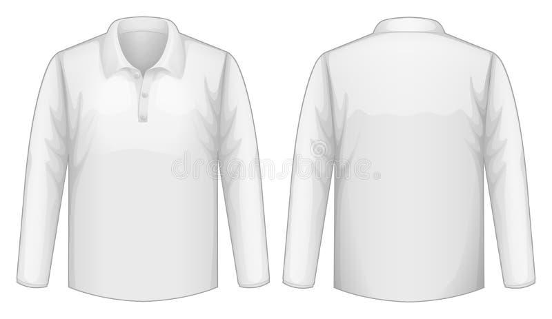 Camisa blanca libre illustration