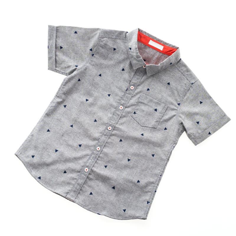 Camisa cinzenta imagem de stock
