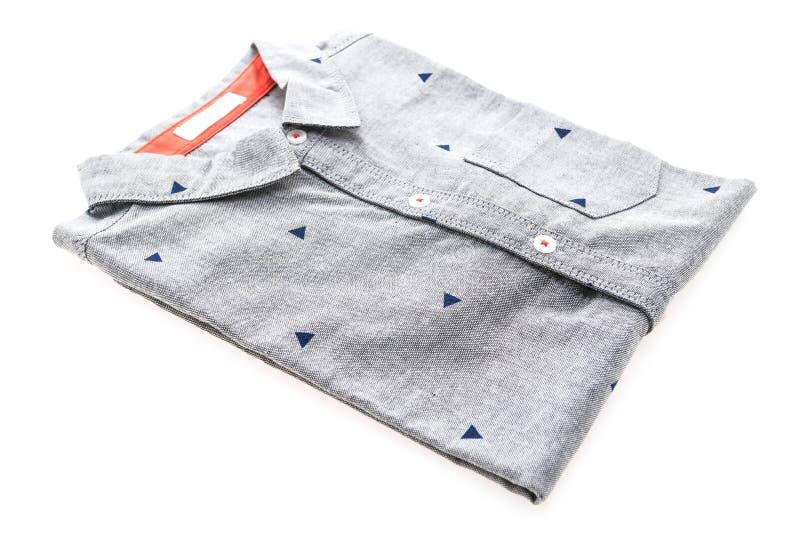 Camisa cinzenta foto de stock