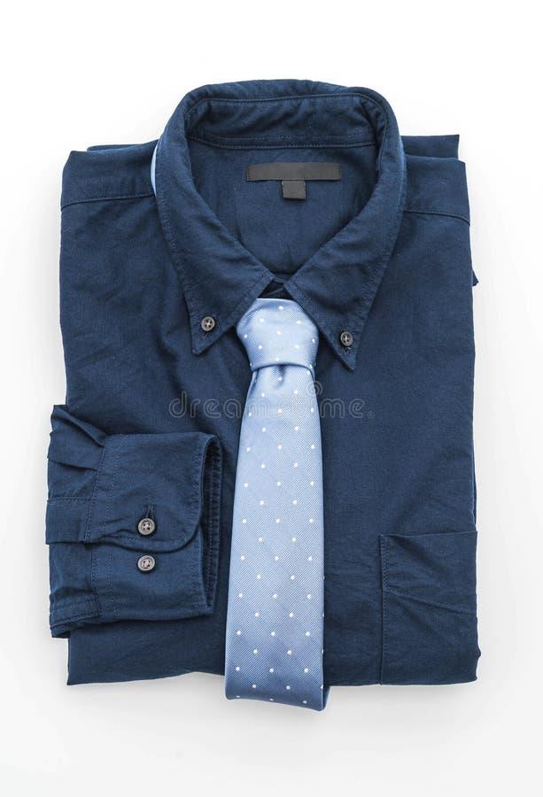 Camisa con la corbata imagen de archivo libre de regalías