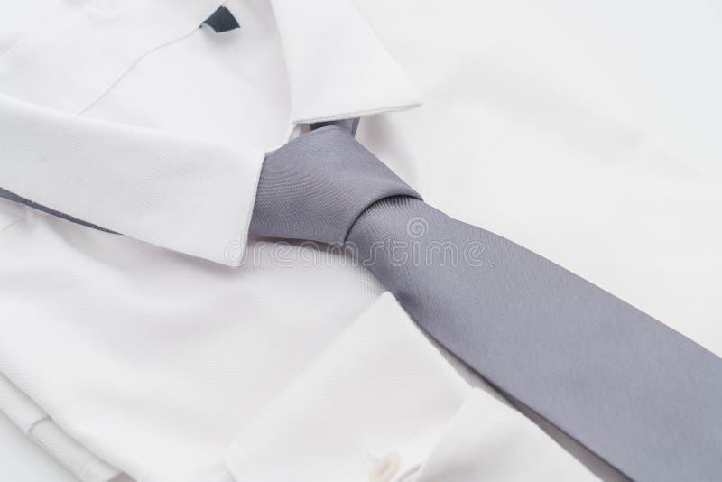 Camisa con la corbata foto de archivo libre de regalías
