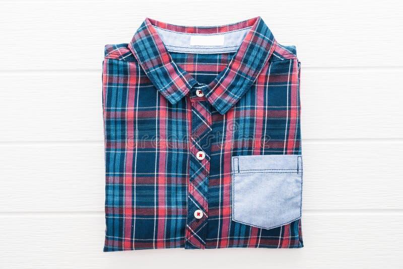 Camisa da tartã ou de manta fotos de stock