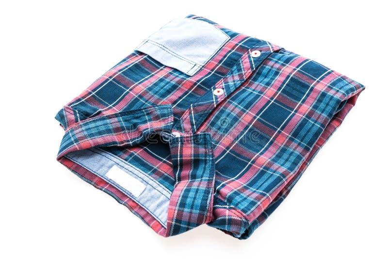 Camisa da tartã ou de manta imagens de stock royalty free