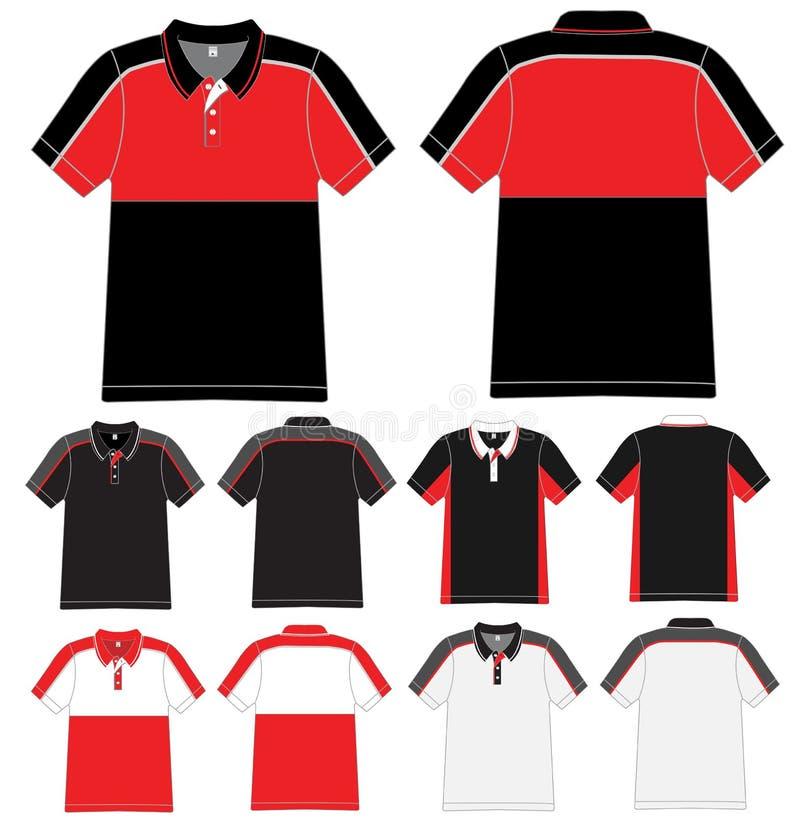 Camisa de polo do vetor ilustração do vetor