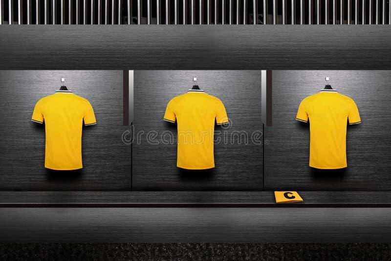 Camisa del equipo de fútbol imágenes de archivo libres de regalías