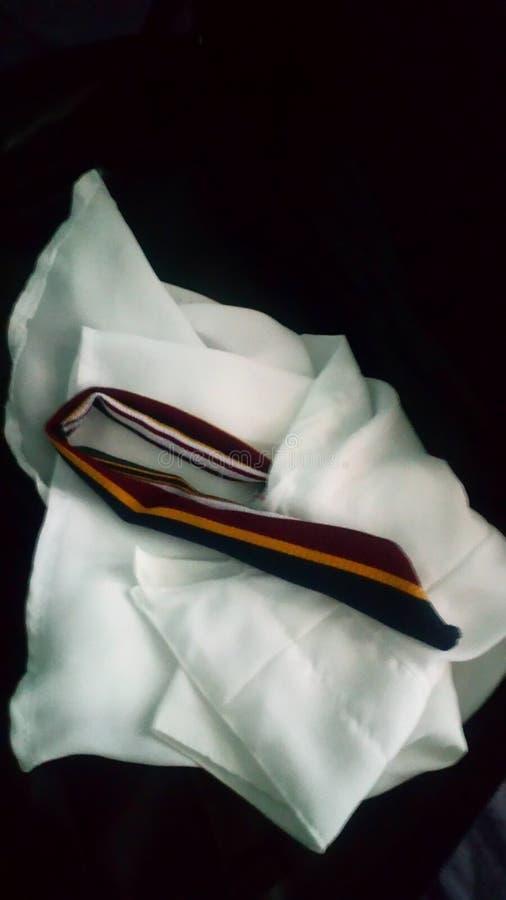 camisa delgada blanca foto de archivo libre de regalías