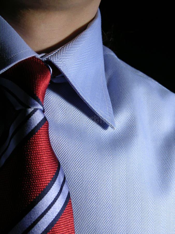 Camisa e laço imagens de stock