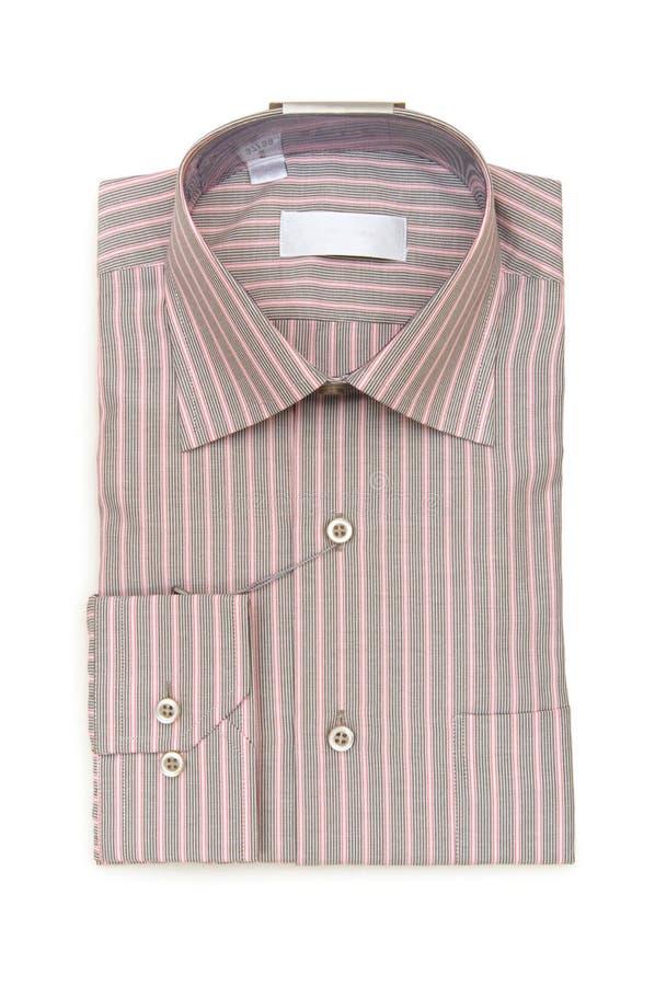 Camisa listrada isolada fotografia de stock
