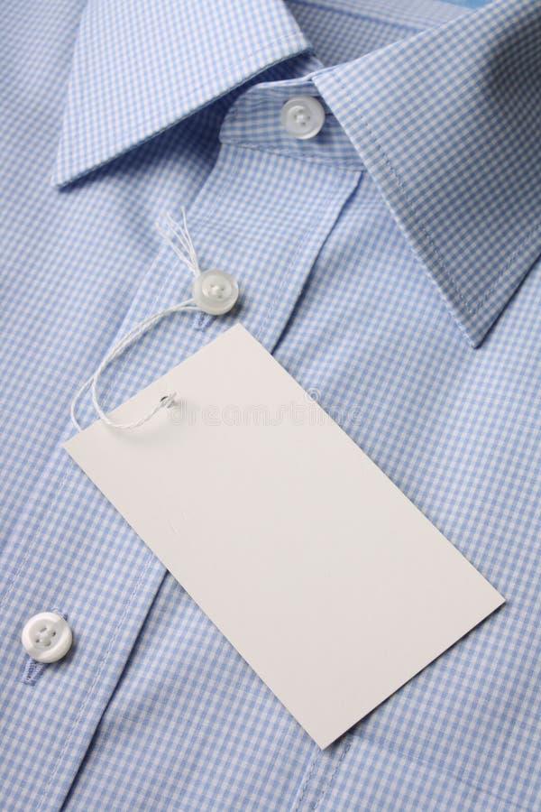 Camisa nova do negócio imagens de stock royalty free