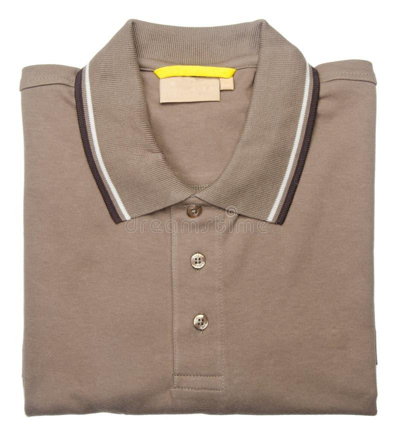 camisa polo para hombre en un fondo imagenes de archivo