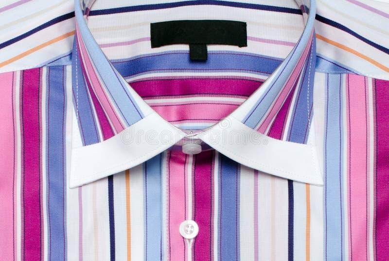 Camisa rayada colorida foto de archivo