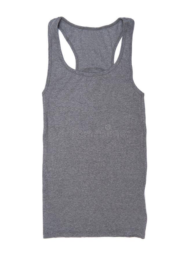 Camisa sem mangas fotografia de stock