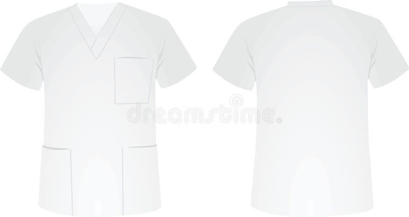 Camisa uniforme médica ilustração royalty free