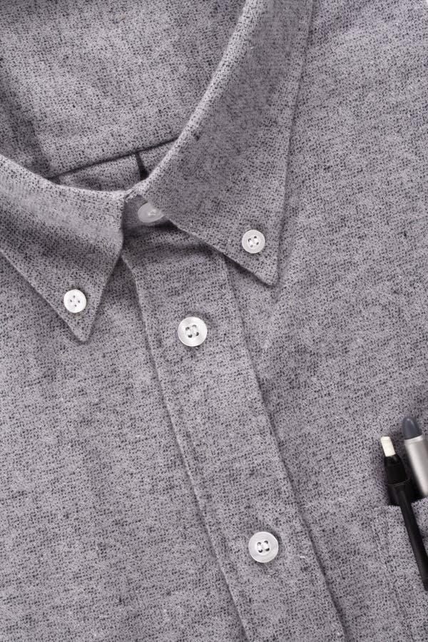 Camisa y lápiz mecánico fotografía de archivo