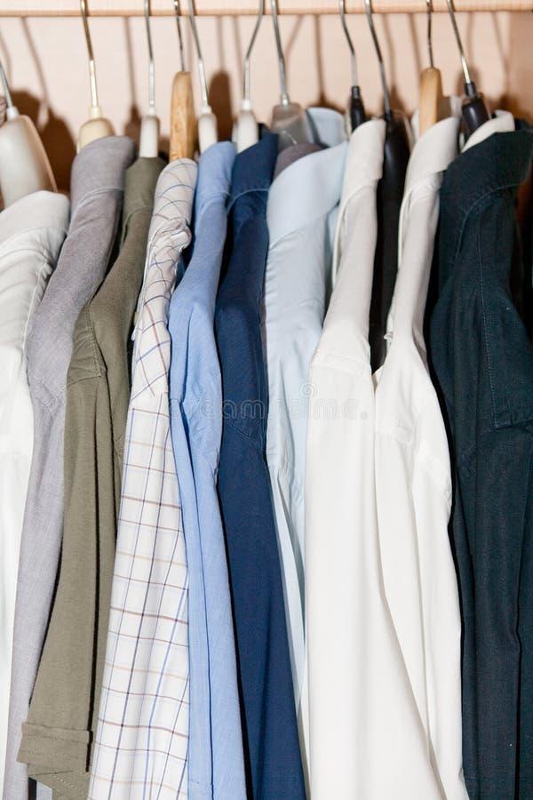 Camisas fotografia de stock