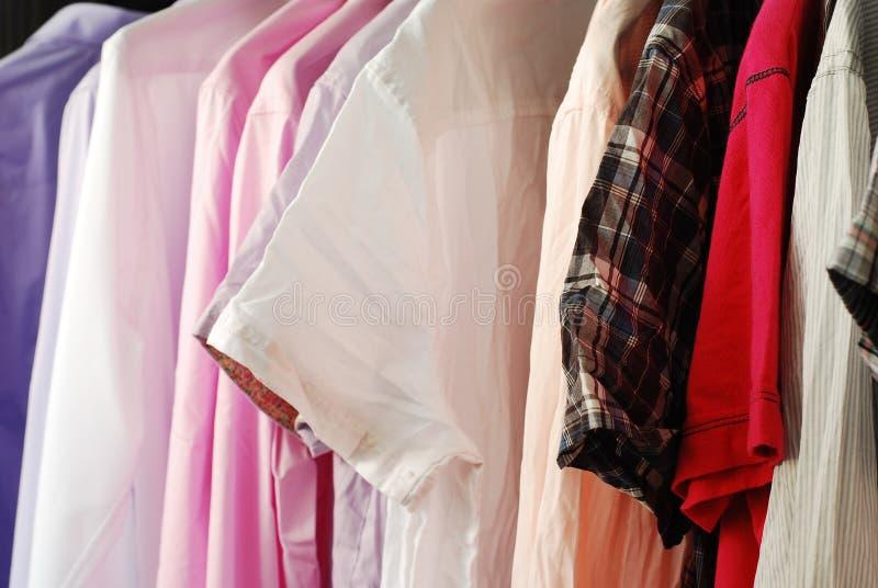 Camisas foto de stock