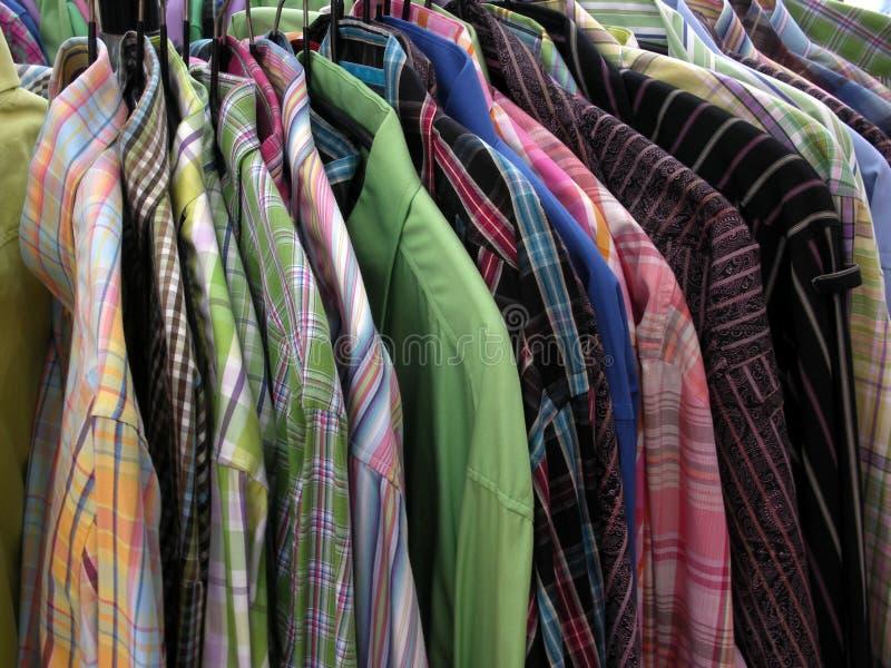 Camisas. foto de stock royalty free