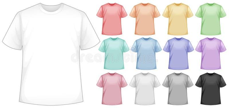 camisas ilustração do vetor