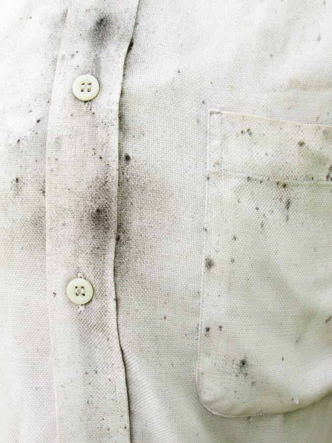 Camisas brancas sujas foto de stock royalty free