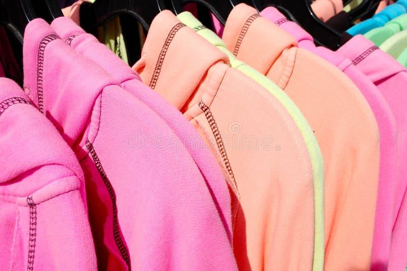 Camisas brilhantes imagem de stock royalty free