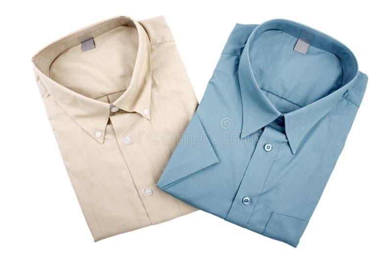 Camisas de los pares imagen de archivo