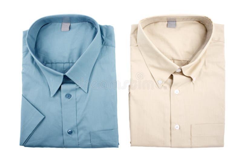 Camisas del color fotos de archivo libres de regalías