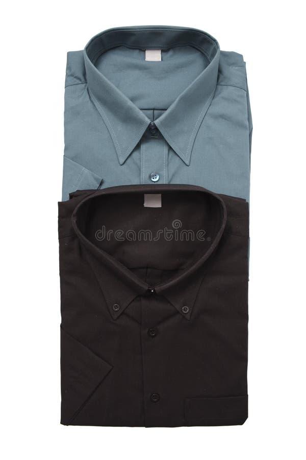 Camisas del color oscuro foto de archivo