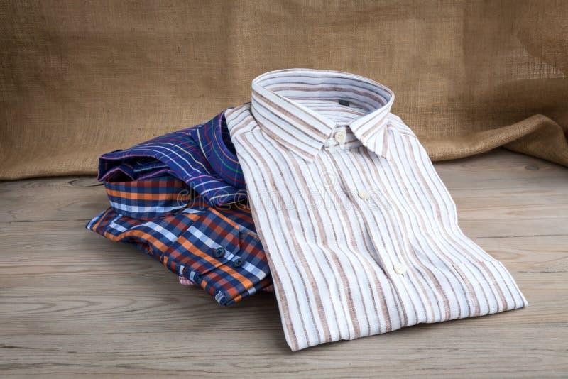 Camisas dos homens imagem de stock royalty free