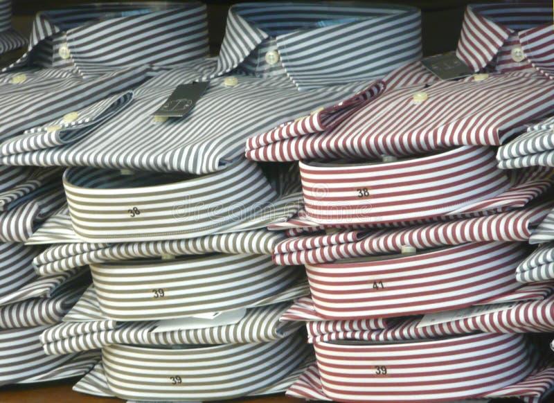 Camisas dos homens imagem de stock