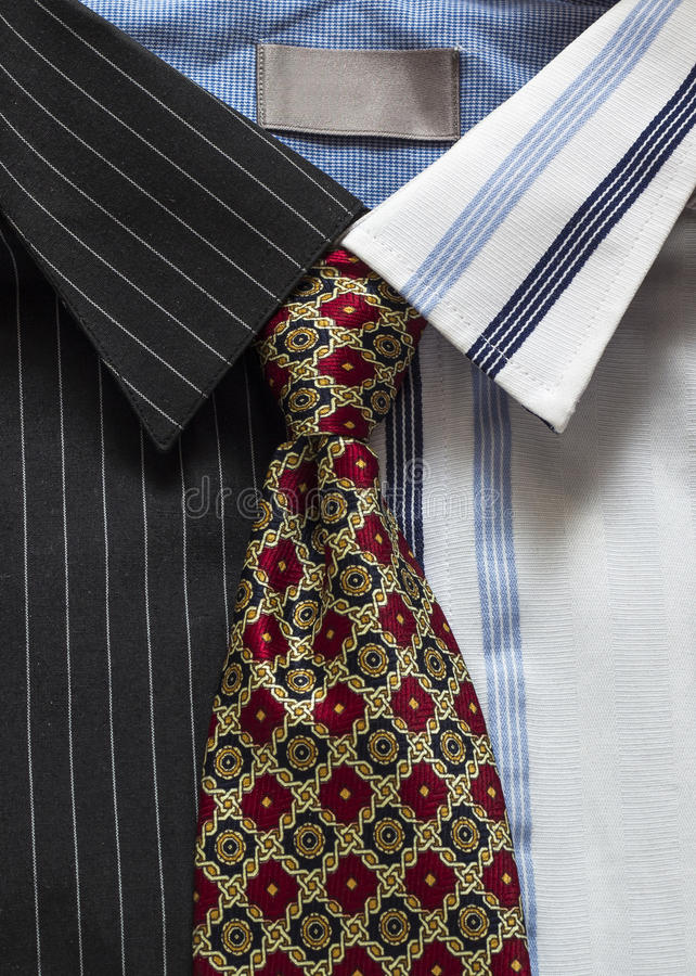 Camisas E Laço Imagens de Stock