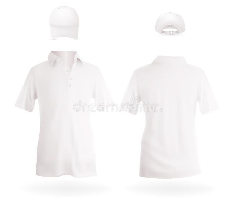 Camisas e tampões ilustração royalty free