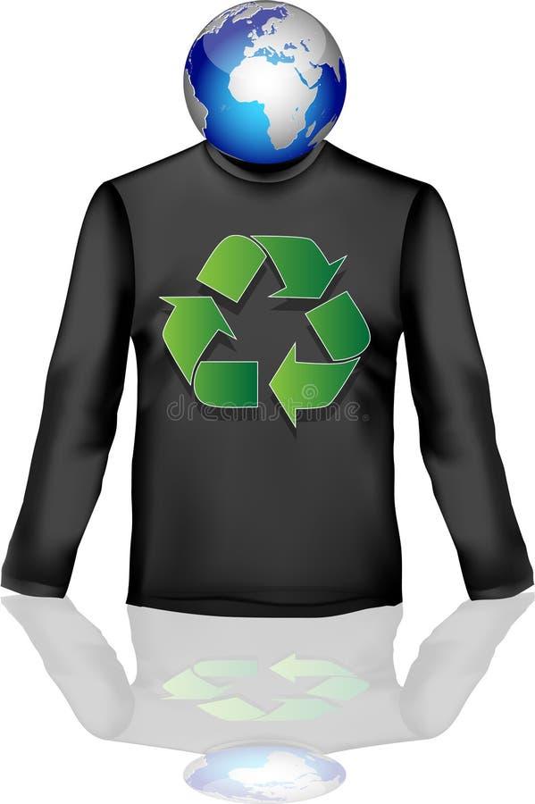 Camiseta-1 vector illustratie