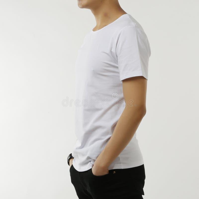 Camiseta blanca foto de archivo