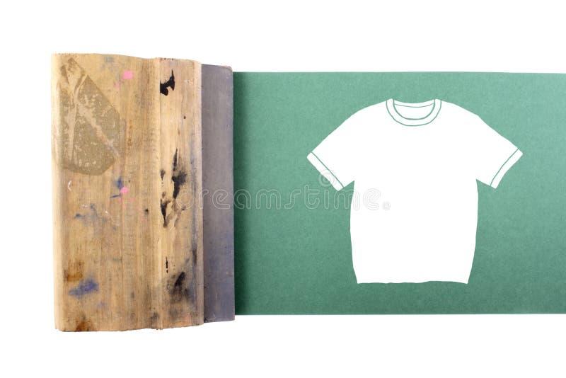 Camiseta de Silking imágenes de archivo libres de regalías