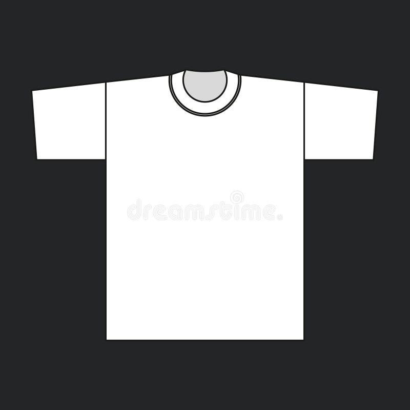 Download Camiseta Del Blanco Del Vector Stock de ilustración - Ilustración de diseño, modelo: 42432673