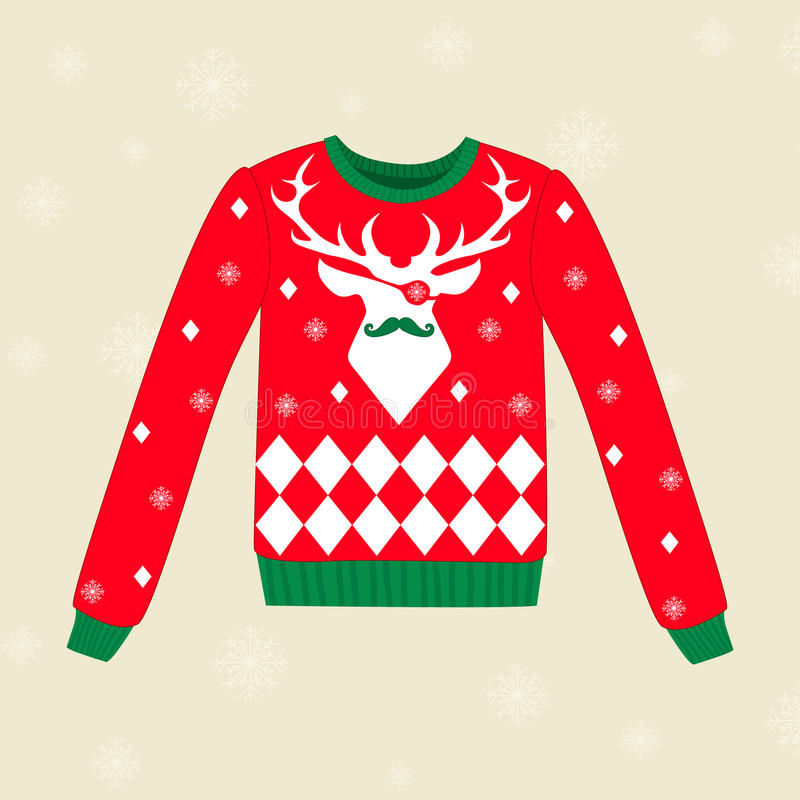 Camiseta feia do Natal