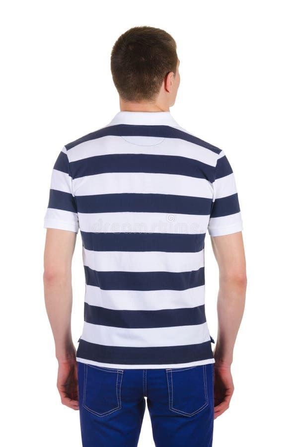 Download Camiseta masculina aislada imagen de archivo. Imagen de modelo - 41912835