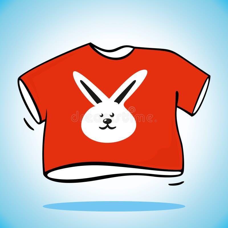 Download Camiseta roja stock de ilustración. Ilustración de gráfico - 42435060