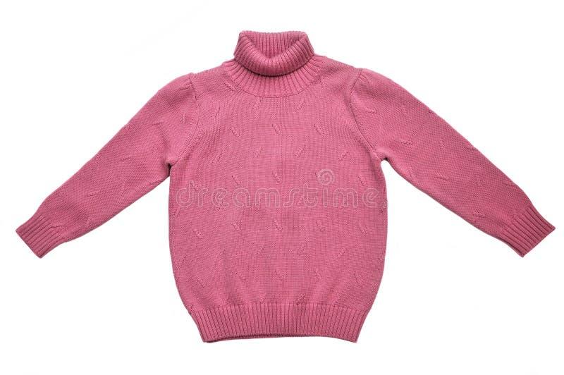 Camisola do knit do inverno foto de stock