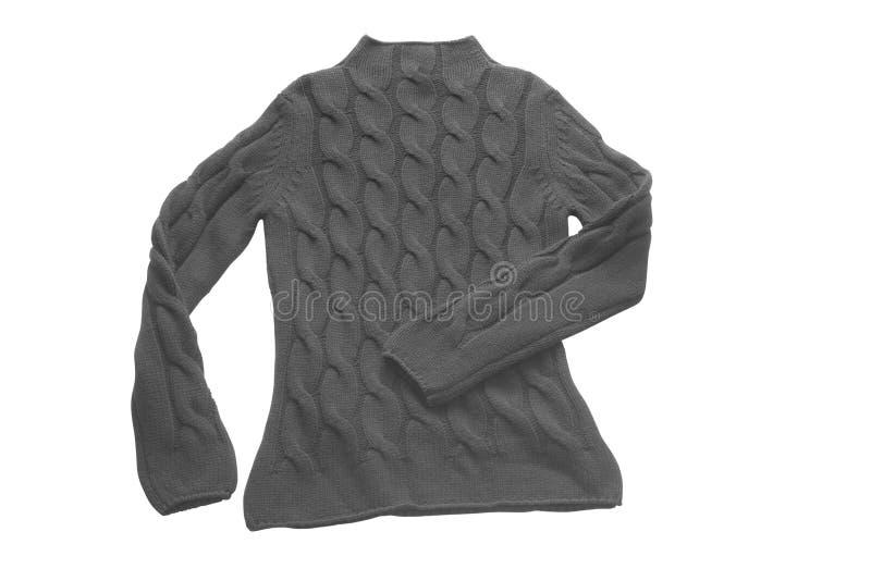 Camisola preta fotografia de stock