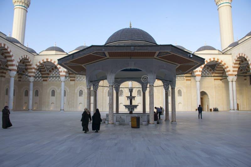 Camlica-Moschee hat die Unterscheidung des Seins die größte Moschee in der Türkei Foto am 29. März 2019 gemacht, Ä°stanbul, die T stockbilder